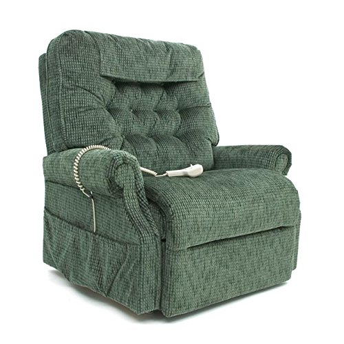 - Pride Mobility LC-358XL Heritage LC-358 Line 3-Position Lift Chair Recliner - X Large - Deep Sky