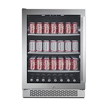 Avallon ABR241GLH 24 Inch Wide Beverage Center with Left Swing Door (ABR241SGLH)