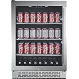 Avallon 152 Can Built-In Beverage Cooler - Left Hinge