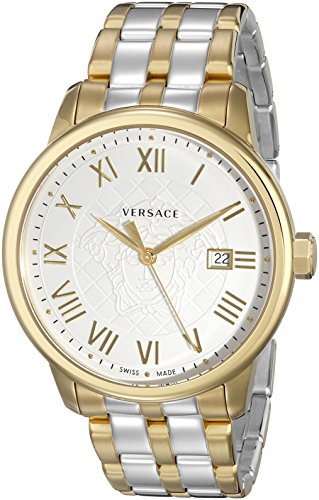 Versace-Mens-VQS050015-Business-Two-Tone-Stainless-Steel-Watch