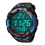 AutumnFall Digital Watch, Men's Analog Adjustable Band Military Army Sport LED Waterproof Wrist Watch 2018 Hot Sale Quartz Watches (C)