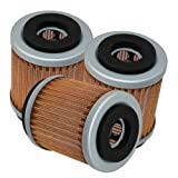 yfm250 oil filter - 3-PACK OIL FILTER YAMAHA BEAR TRACKER 250 YFM250 YFM-250 1991-2004