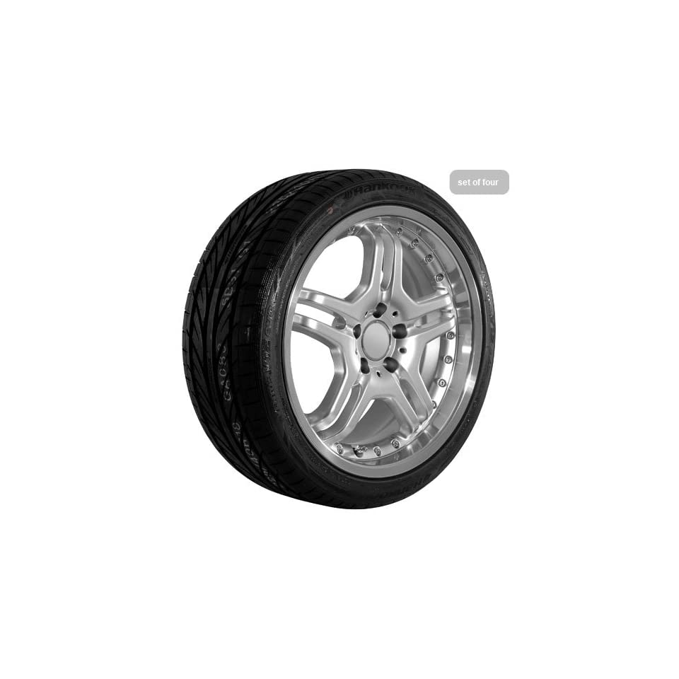 18 Inch Silver 480 Series Wheels Rims and Tires for Mercedes Benz