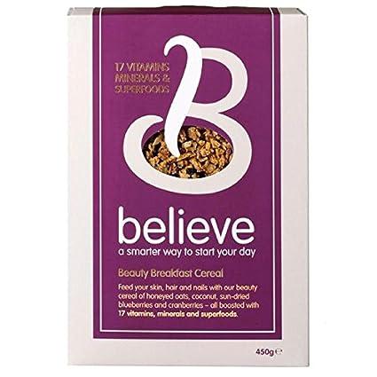 Creer Belleza Cereal Con 17 vitaminas y superalimentos para la piel, cabello y uñas 450g