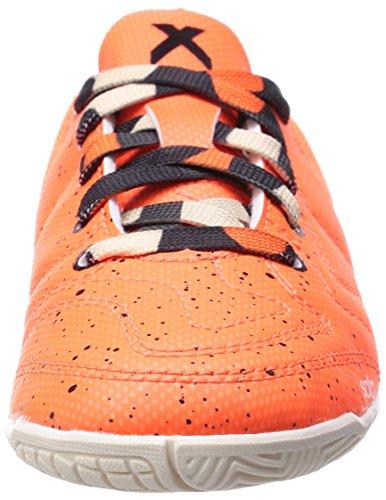 adidas Black Orange Core CT 3 X15 Chalk White Solar Orange Jungen Fußballschuhe rqXrRZxwz
