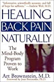 img - for Healing back Pain Naturally, 1st, First Edition book / textbook / text book