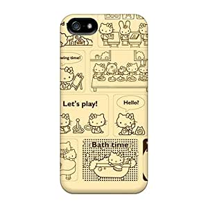 Hard Plastic Iphone 5/5s Case Back Cover,hot Cute Kitty Case At Perfect Diy