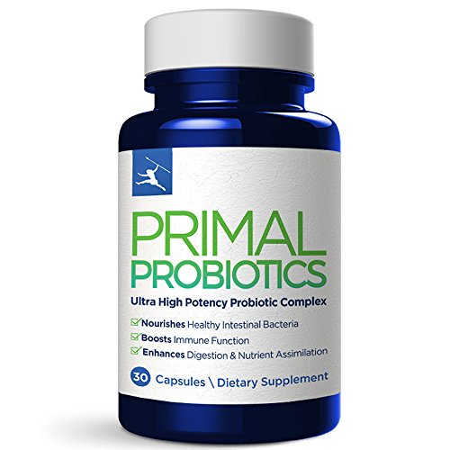 Primal Blueprint  Primal Probiotics, Digestive & Immune Support, 30 Count