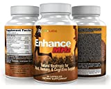LFI Enhance MHz - Your Daily Nootropic Designed to Enhance Your Cognitive Performance - Boost Memory, Focus, Clarity, and Creativity While Also Reducing Stress and Anxiety