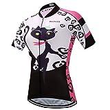 BIYINGEE Women's Cycling Jersey Short Sleeve Sweat Wicking