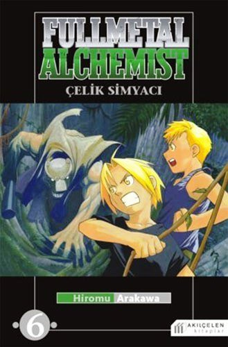 Read Online Fullmetal Alchemist - Celik Simyaci 6 pdf