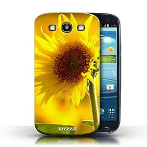 Kobalt® protector duro de nuevo caso / cubierta para el Samsung Galaxy S3/SIII | Flor amarilla Diseño | Floral flores jardín colección