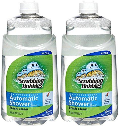 (Scrubbing Bubbles Automatic Shower Cleaner Refill - Original - 34 oz - 2 pk)