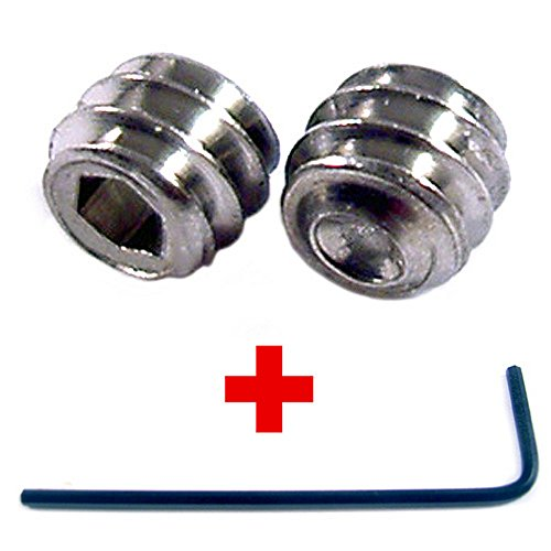"""10-32 x 1/8"""" Socket Set Screws Cup Point Stainless Steel 10 Pack With Allen Wrench (1/8"""" Length)"""