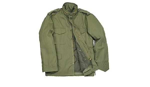 Amazon.com  M 65 - Field Jacket (4XLR)  Military Coats And Jackets  Clothing 79e15321bcb
