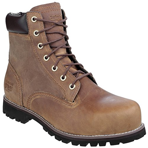 Timberland Mens Eagle Pro Penetration Resistant Leather Work Safety Boot Gaucho