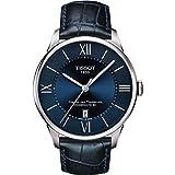 Tissot Chemin des Tourelles Powermatic 80 Stainless Blue Leather 42mm T099.407.16.048.00