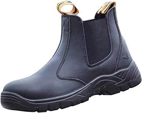 RSHENG Zapatos para Botas De Trabajo con Punta De Acero Unisex ...