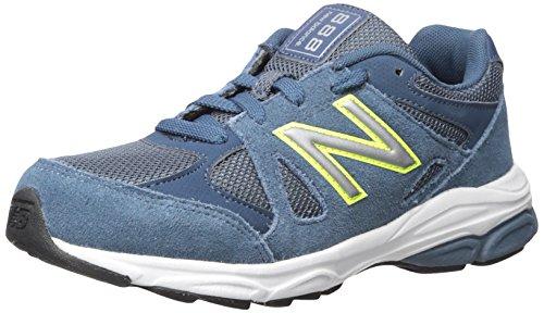 New Balance KJ888V1 Grade Running Shoe (Big Kid) Blue/Yellow