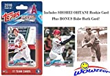 #7: Los Angeles Angels 2018 Topps Baseball EXCLUSIVE Special Limited Edition 17 Card Complete Team Set with SHOHEI OHTANI FIRST ROOKIE, Mike Trout, Albert Pujols & More Plus BONUS BABE RUTH Card! WOWZZER