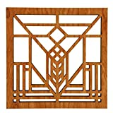 Frank Lloyd Wright Lake Geneva Hardwood Trivet