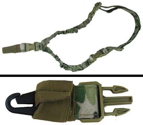 Ultimate Arms Gear Heavy Duty Sling, TACCAM Multi Terrain Camo AR/M4/M16 Rifle-Shotgun-Gun