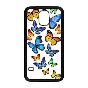 Beautiful Butterfly Hight Quality Plastic Case for Samsung Galaxy S5
