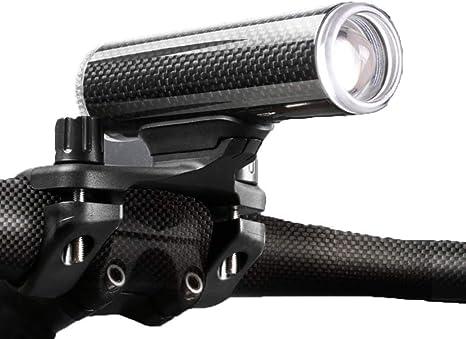 USB recargable linterna de la bicicleta, Potente 450/350 lumen ...