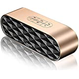 ZoeeTree S3 Wireless Bluetooth Speaker, Outdoor V4.2+EDR Speakers with Aluminium Unibody Housing, Loud HD Sound and Enhanced Bass, 10W Dual Drivers Portable Stereo Speaker, Built-in Mic, TF Card Slot