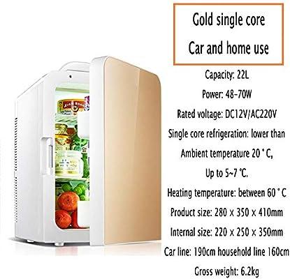 YIWANGO 22L Portátil Refrigerador Fría Caliente Doble Función BAJO ...