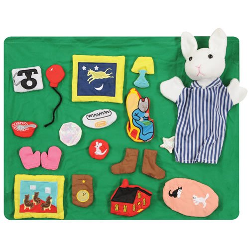 UPC 010926000152, Goodnight Moon Puppet & Props Set for Children