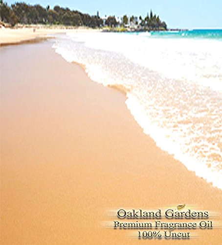 Fragrance Oil - BEACH TYPE Fragrance Oil - Reminiscence of a day at the beach with the exotic blend of jasmine, mandarin, salt, sea spray and warm sand - Fragrance Oil By Oakland Gardens (030 mL - 1.0 fl oz Bottle)