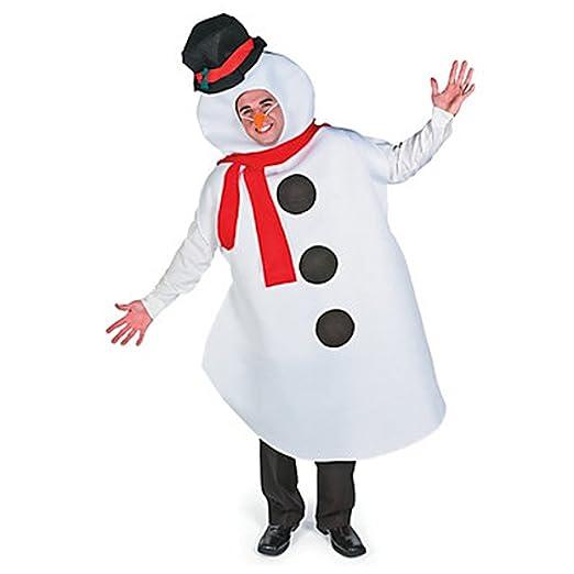 69b9b5276fc2 Amazon.com  MyPartyShirt Snowman Costume-Adult  Clothing