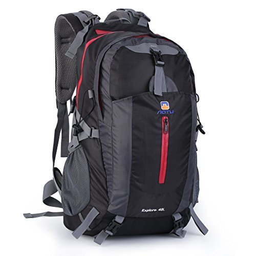 OUTAD 40L Lightweight Packable Backpack Durable Waterproof Travel Hiking Daypack for Women Men