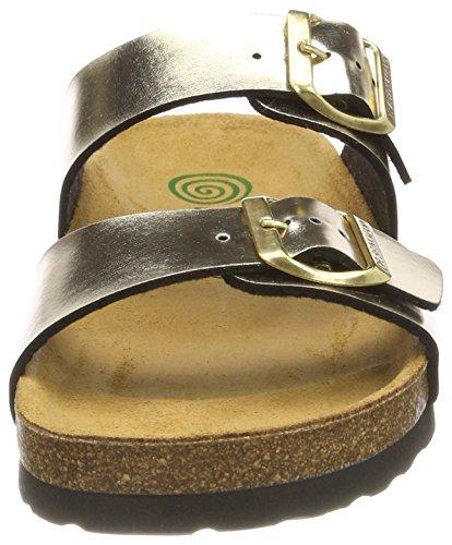 Dr. Brinkmann 701175, Zuecos Para Mujer Gold (Gold (82))
