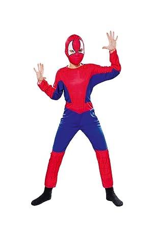 Gen 13 Aptafêtes - Disfraz de araña para niño - 7-9 años / Talla M ...