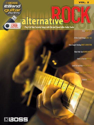 Price comparison product image ALTERNATIVE ROCK GUITAR PLAY -ALONG VOLUME 2 (ROLAND EBANDCUSTOM BOOK WITH USB STICK