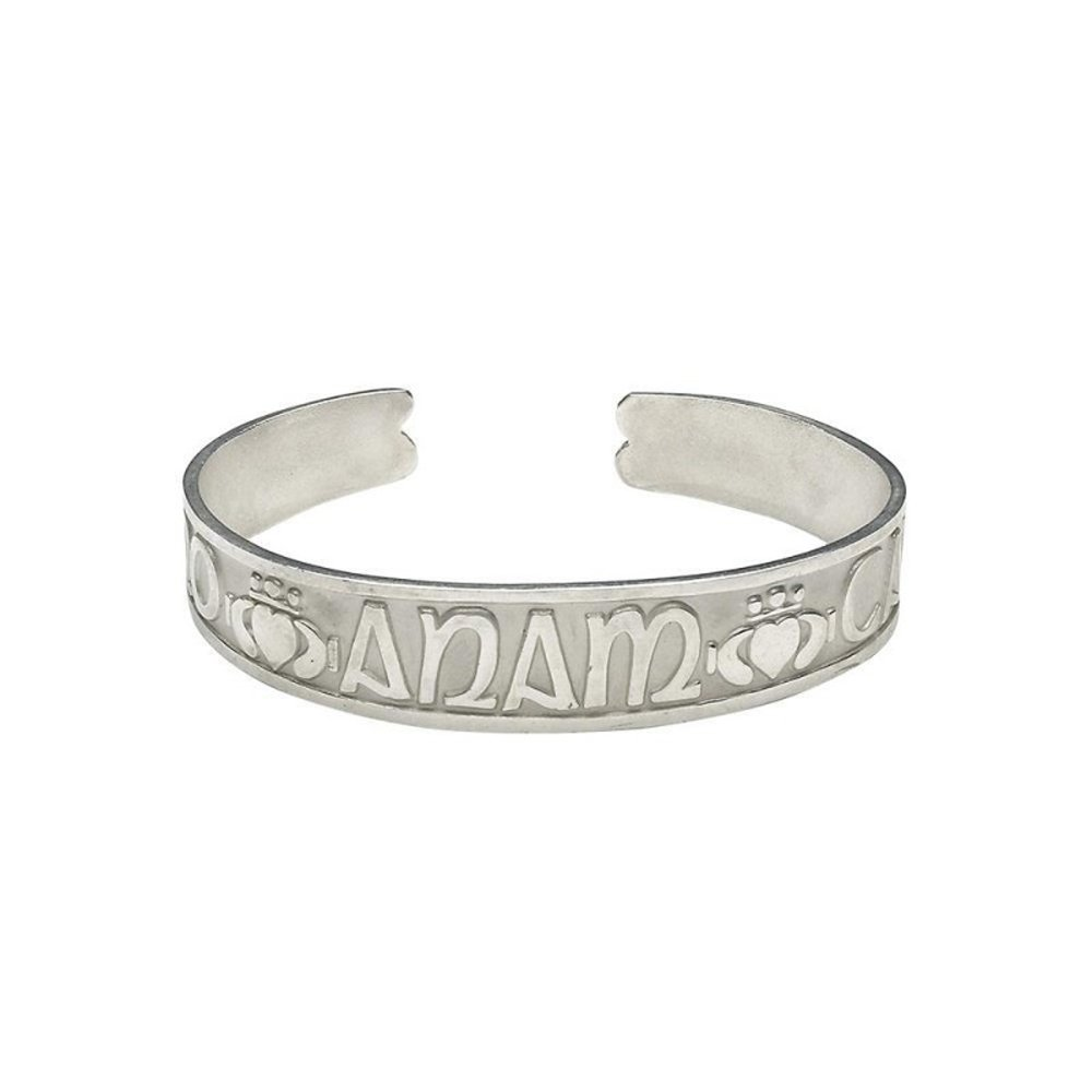 Mo Anam Cara Bracelet Sterling Silver Made in Ireland