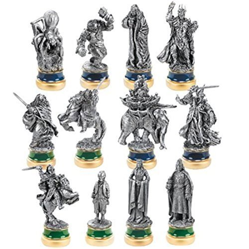 Official the Return of the King 12 Pewter Chess Character (Rings Chess Set)