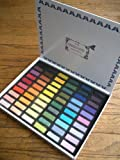 Great American Artworks Pastels- Set of 60 Half Sticks