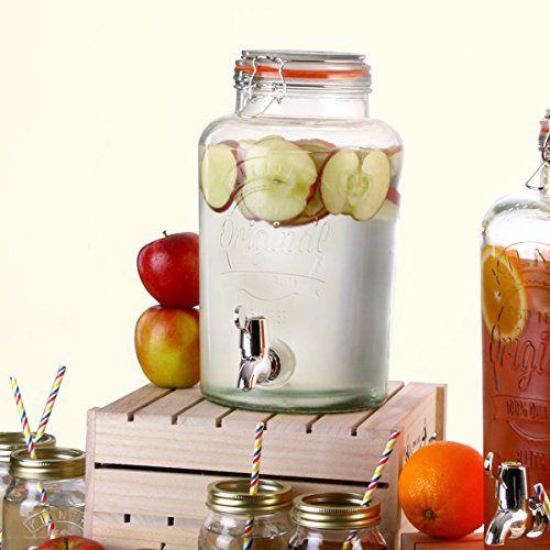 Kilner Garden Party Beverage Dispenser 5ltr for a Vintage Beverage Service