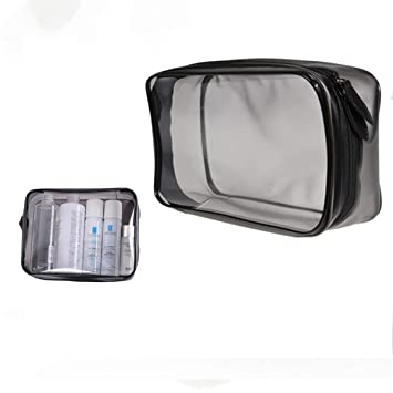 Amazon.com: SHENLJ Moda durable transparente bolsa de viaje ...