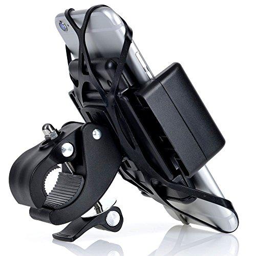 Best Bike Phone Mount, IPhone 6, Plus, 5, 5S, Smartphone, Handlebar, Cell Phone, Mobile, Universal GPS Holder,