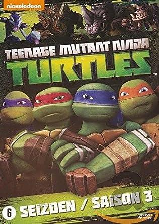 Les Tortues Ninja - Nickelodeon - Saison 3 Teenage Mutant ...