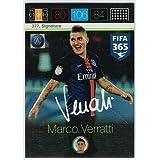 Panini Adrenalyn XL FIFA 365 Marco Verratti Signature Card by FIFA 365