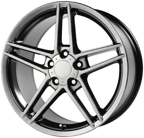 Wheel Replicas V1145 Chevrolet Corvette Z06 Hyper Silver Wheel (18x9.5
