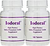 Optimox Higjh PotencyIodine/Potassium Iodide Supplement, 180 Tablets (2 Pack)