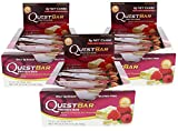 quest bar chocolate - Quest Nutrition - White Chocolate Raspberry - (36 Bars)
