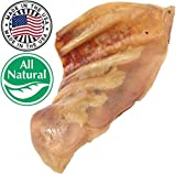 Jumbo Pig Ears for Dogs Made In USA | Natural & 100% Whole Chews | Premium Bulk Pork Treats | Supports Dog Dental Health | Free Of Artificial Ingredients, Colors, Flavors | Thick Cut Ears | Prime Gnaw