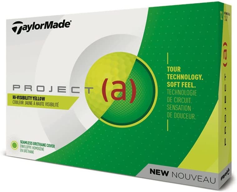 TaylorMade Project (a) Golf Balls Yellow Dozen